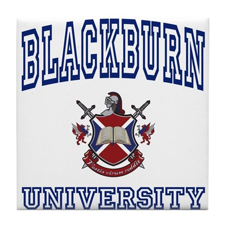 BLACKBURN University Tile Coaster