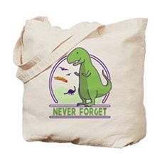 Never Forget Dinosaurs Tote Bag