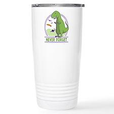 Never Forget Dinosaurs Travel Mug