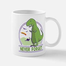 Never Forget Dinosaurs Mugs