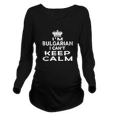 I Am Bulgarian I Can Not Keep Calm Long Sleeve Mat