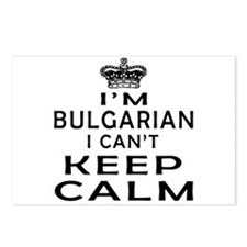 I Am Bulgarian I Can Not Keep Calm Postcards (Pack