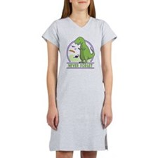 Never Forget Dinosaur Women's Nightshirt