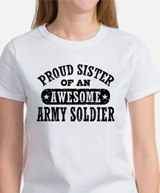 Proud Army Sister Women's T-Shirt