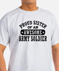 Proud Army Sister T-Shirt