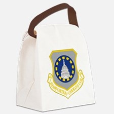 USAF HQ Command Canvas Lunch Bag