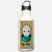 cahierpersonnageoeufda Water Bottle