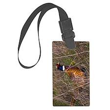 (9) Pheasant  407 Luggage Tag