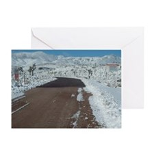 Area 51 Trip 1-23-10 025 Greeting Card