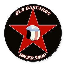 old bastards2  Round Car Magnet