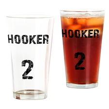 hooker Drinking Glass