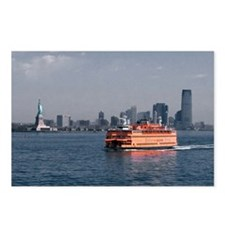 (2) Staten Island Ferry Postcards (Package of 8)