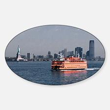 (2) Staten Island Ferry Sticker (Oval)