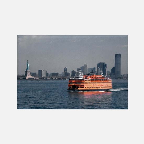 (2) Staten Island Ferry Rectangle Magnet