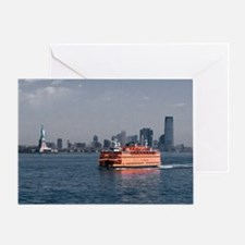 (2) Staten Island Ferry Greeting Card