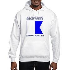 USCG Recruit Company A176<BR> Hoodie 2