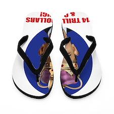 king obama 14 Flip Flops