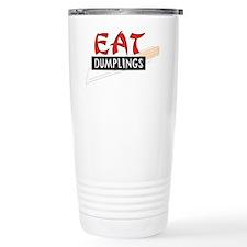 C-213 (eat dumplings) Travel Mug