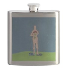 littlenudistholdingflowers Flask