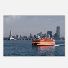 (4) Staten Island Ferry Postcards (Package of 8)