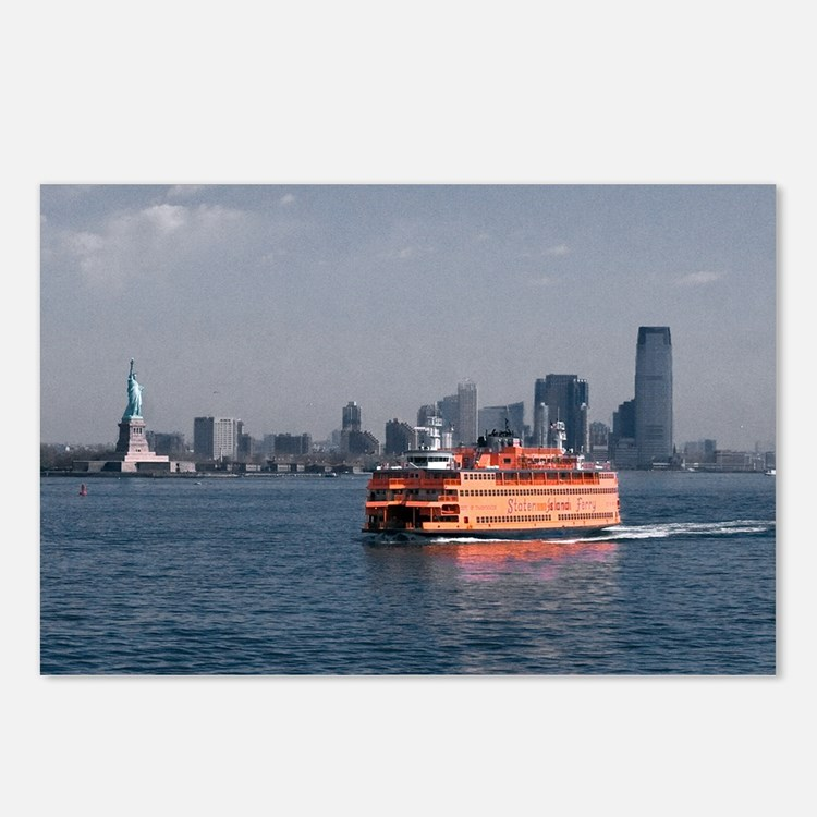 (11) Staten Island Ferry Postcards (Package of 8)