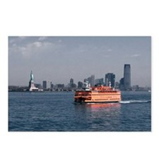 (6) Staten Island Ferry Postcards (Package of 8)