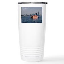 (6) Staten Island Ferry Ceramic Travel Mug