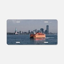 (6) Staten Island Ferry Aluminum License Plate
