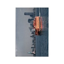 (11p) Staten Island Ferry Rectangle Magnet
