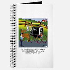 Horse Got in to GMO Hay Journal