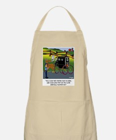 Horse Got in to GMO Hay Apron
