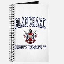 BLANCHARD University Journal