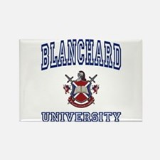 BLANCHARD University Rectangle Magnet