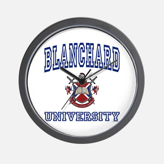 BLANCHARD University Wall Clock