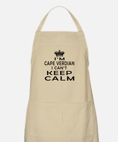 I Am Cape Verdian I Can Not Keep Calm Apron