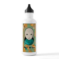 cahierpersonnageoeufda Water Bottle