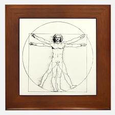 Vitruvian Framed Tile