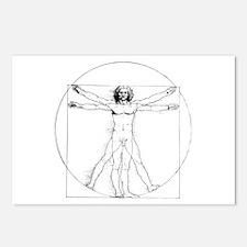 Vitruvian Postcards (Package of 8)