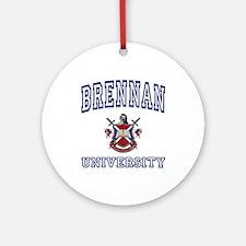 BRENNAN University Ornament (Round)