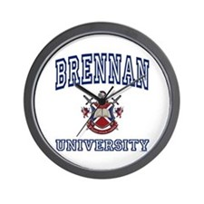 BRENNAN University Wall Clock