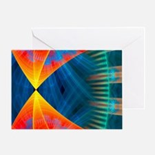 Abstract 1240 Greeting Cards