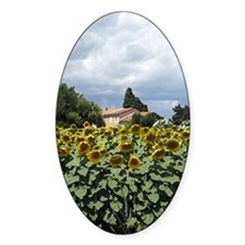 provence sunflowers painting Decal