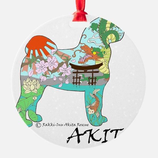 Akita national treasure Ornament