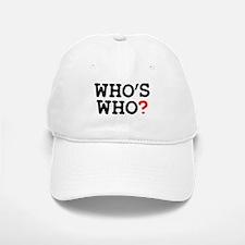 WHOS WHO Baseball Baseball Cap