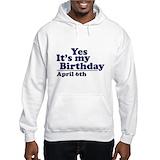 B co 4 6th Hooded Sweatshirt