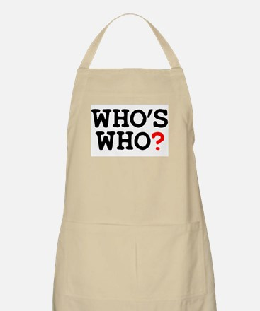 WHOS WHO Light Apron