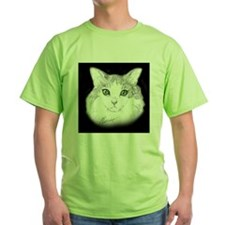 HairyGreenBlkT T-Shirt