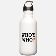 WHOS WHO Water Bottle