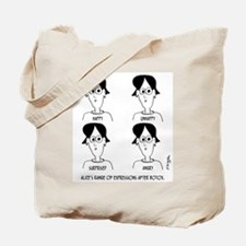Range of Emotions Botox Tote Bag