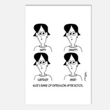 Range of Emotions Botox Postcards (Package of 8)